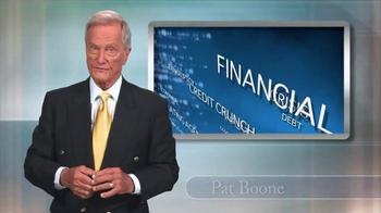 Swiss America TV Spot, 'Financial Peace' Featuring Pat Boone - Thumbnail 1