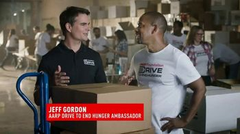 AARP Foundation TV Spot, \'Drive to End Hunger\' Featuring Jeff Gordon