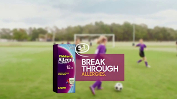 Children's Allegra Allergy 12 Hour TV Spot, 'Sideline' - Thumbnail 9