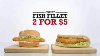 Arby's Crispy Fish Fillet TV Spot, 'Secret Fishing Spot' - Thumbnail 3
