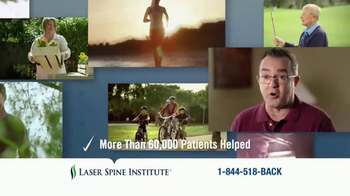 Laser Spine Institute TV Spot, 'Lasting Relief' - Thumbnail 4