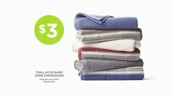 JCPenney Venta Power Penney Days TV Spot, 'Camisetas y toallas' [Spanish] - Thumbnail 1