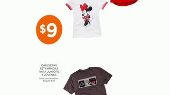 JCPenney Venta Power Penney Days TV Spot, 'Camisetas y toallas' [Spanish] - Thumbnail 3