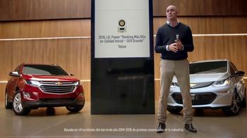 Chevrolet TV Spot, 'Los reconocimientos siguen llegando' [Spanish] [T1] - Thumbnail 3