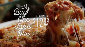 Olive Garden Buy One Take One TV Spot, 'An Irresistible Meal' - Thumbnail 1