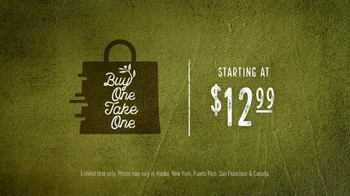 Olive Garden Buy One Take One TV Spot, 'An Irresistible Meal' - Thumbnail 7