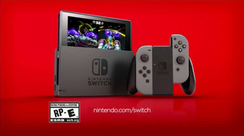 Nintendo Switch TV Spot, 'Play at Home or on the Go' - Thumbnail 9