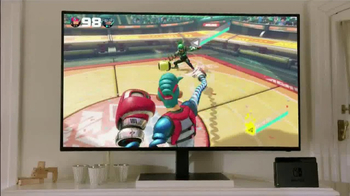 Nintendo Switch TV Spot, 'Play at Home or on the Go' - Thumbnail 2