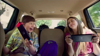 Nintendo Switch TV Spot, 'Play at Home or on the Go' - Thumbnail 8