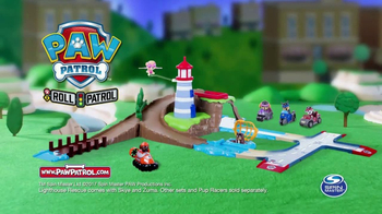 PAW Patrol Skye & Zuma's Lighthouse Rescue Track Set TV Spot, 'Missions' - Thumbnail 6
