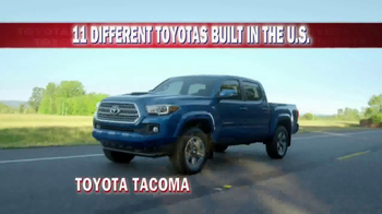 Toyota TV Spot, 'Made in America' - Thumbnail 8
