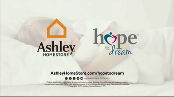 Ashley HomeStore Hope to Dream Program TV Spot, 'Beds for Kids' - Thumbnail 8