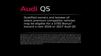 Audi Q5 TV Spot, 'Excel: Bonus' [T1] - Thumbnail 9