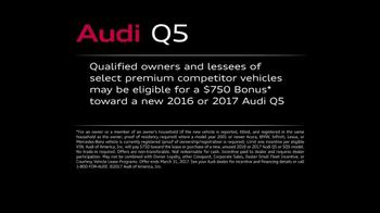 Audi Q5 TV Spot, 'Excel: Bonus' [T1] - Thumbnail 8