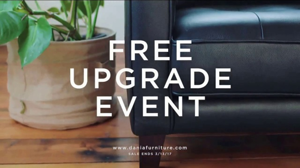 Dania Furniture Free Upgrade Event TV Commercial, U0027Make It Yoursu0027   ISpot.tv