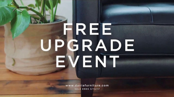 Dania Furniture Free Upgrade Event TV Spot, 'Make It Yours'