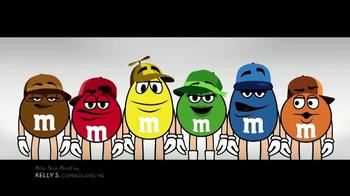 M&M's TV Spot, 'Bite-Size Beat by Kelly S, Cumberland, ME' - Thumbnail 1