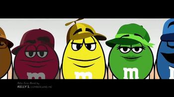 M&M's TV Spot, 'Bite-Size Beat by Kelly S, Cumberland, ME' - Thumbnail 3