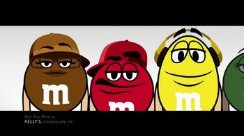 M&M's TV Spot, 'Bite-Size Beat by Kelly S, Cumberland, ME' - Thumbnail 4