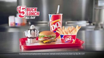 Dairy Queen $5 Buck Lunch TV Spot, 'Gearing Up' - Thumbnail 6