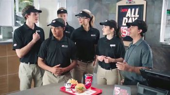 Dairy Queen $5 Buck Lunch TV Spot, 'Gearing Up'