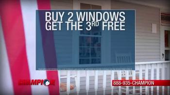 Champion Windows Spring Makeover Sale TV Spot, 'Remarkable Change' - Thumbnail 8