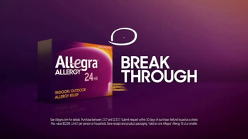 Allegra Allergy 24hr TV Spot, 'Hold You Back' - Thumbnail 6