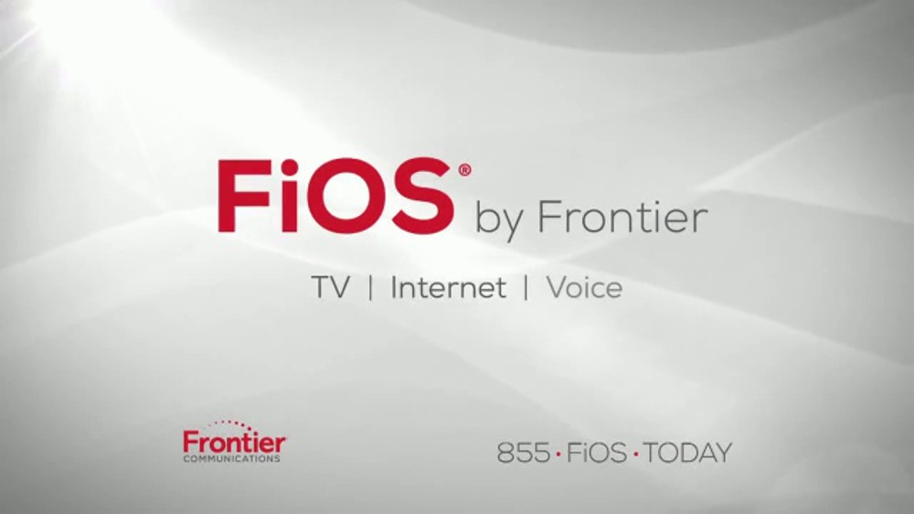 Frontier Communications Commercial The Entertainment