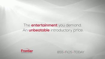 Frontier Communications TV Spot, 'The Entertainment You Demand' - Thumbnail 1