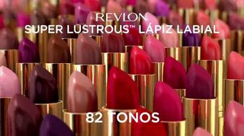 Revlon Super Lustrous Lipstick TV Spot, 'Estilo' con Gwen Stefani [Spanish] - Thumbnail 7
