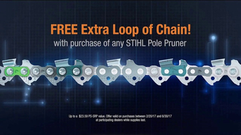 STIHL TV Spot, 'Pick Your Power: Extra Loop of Chain' - Thumbnail 5