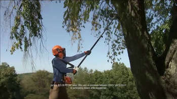 STIHL TV Spot, 'Pick Your Power: Extra Loop of Chain' - Thumbnail 6