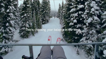 Bank of the West TV Spot, 'Mobile Banking: Chairlift'