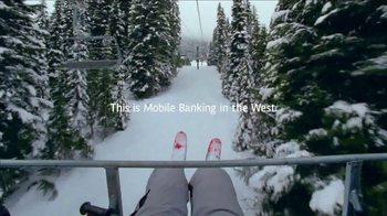 Bank of the West TV Spot, 'Mobile Banking: Chairlift' - Thumbnail 8