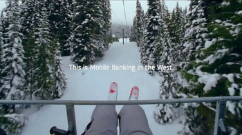Bank of the West TV Spot, 'Mobile Banking: Chairlift' - Thumbnail 9