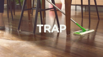 Swiffer Sweeper TV Spot, 'Hair Cuts on Hardwood Floors' - Thumbnail 7