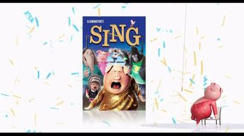 Sing Home Entertainment TV Spot