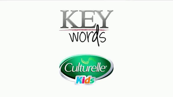 Culturelle Kids TV Spot, 'Key Words for Kids' - Thumbnail 1
