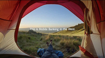 Bank of the West Mobile Banking TV Spot, 'Camping' - Thumbnail 8