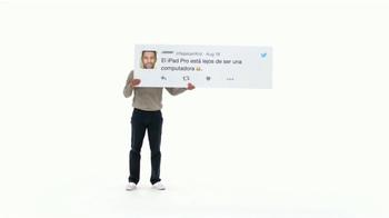 Apple iPad Pro TV Spot, 'Mejor que una computadora' [Spanish] - Thumbnail 1