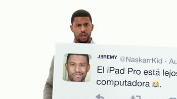 Apple iPad Pro TV Spot, 'Mejor que una computadora' [Spanish] - Thumbnail 6
