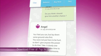 7th Sense App TV Spot, 'Horoscopes and News' - Thumbnail 7