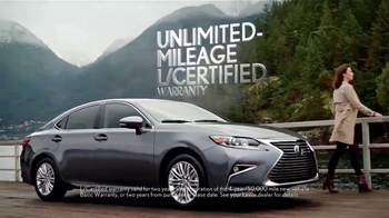 L/Certified by Lexus TV Spot, 'Confidence' [T1] - 839 commercial airings