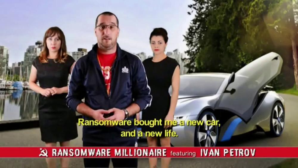PCMatic.com TV Commercial, 'Ransomware Millionaire'