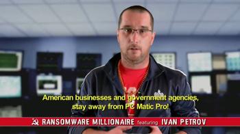 PCMatic.com TV Spot, 'Ransomware Millionaire' - Thumbnail 9