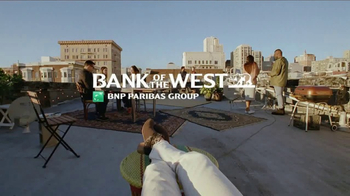 Bank of the West Mobile Banking App TV Spot, 'Rooftop' - Thumbnail 10