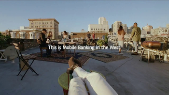 Bank of the West Mobile Banking App TV Spot, 'Rooftop' - Thumbnail 9