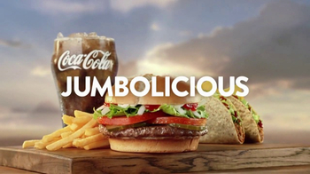 Jack in the Box Jumbo Meal TV Spot, \'Jumbolicious\'