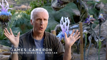 Walt Disney World TV Spot, 'Pandora: World of Avatar' Ft. James Cameron - 2 commercial airings