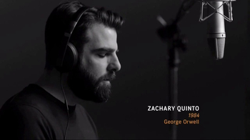 Audible.com TV Spot, '1984' Featuring Zachary Quinto